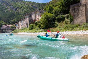 La Drôme, destination eau - canoë sur la rivière Drôme