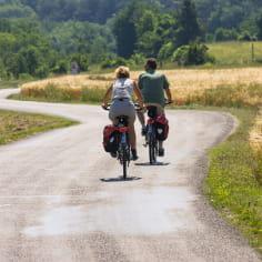 Cyclo le long de l'itinéraire Sur les Pas des Huguenots dans la Drôme
