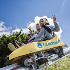 Luge sur rail au Col de Rousset dans la Drôme - activités ludiques - Top des spots nature de la Drôme