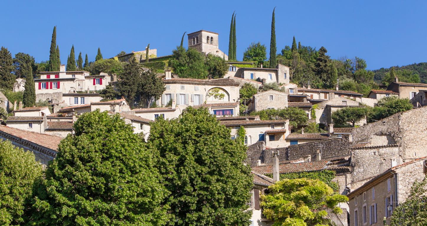 Village de Mirmande, Plus Beau village de France dans la Drôme