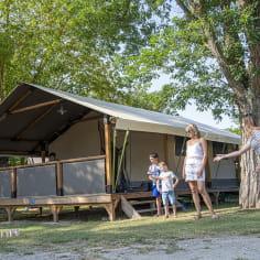 Jeux en famille au camping