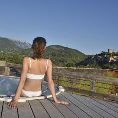 Spa des thermes de Montbrun-les-Bains