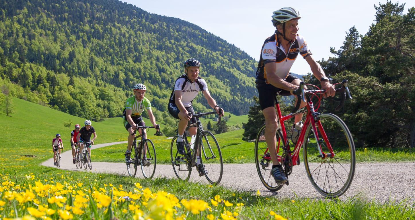 Cyclotourisme dans le Vercors - Drôme - démarche Vélo et fromages