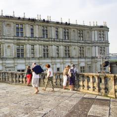 Groupe au Château de Grignan