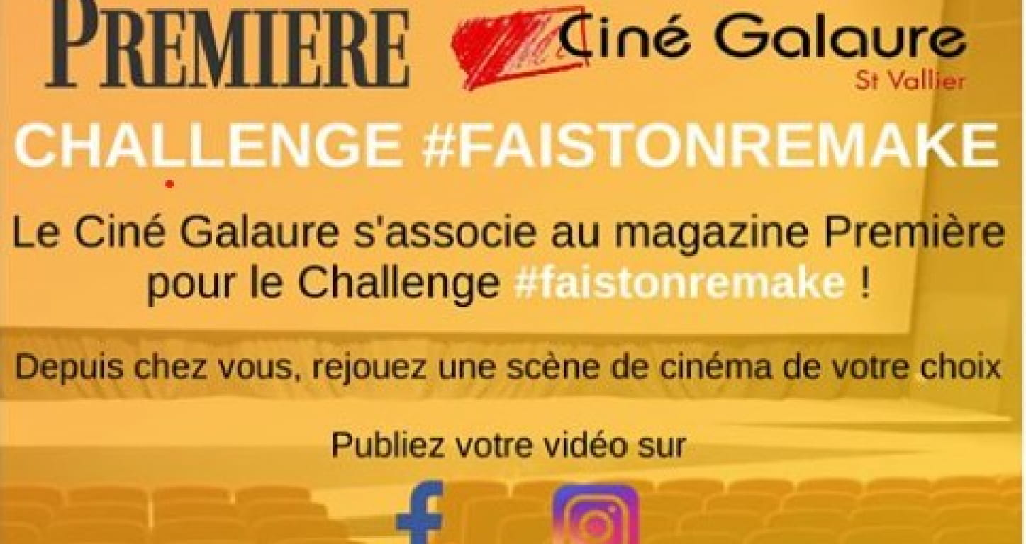 affiche opération challenge#faistonremake