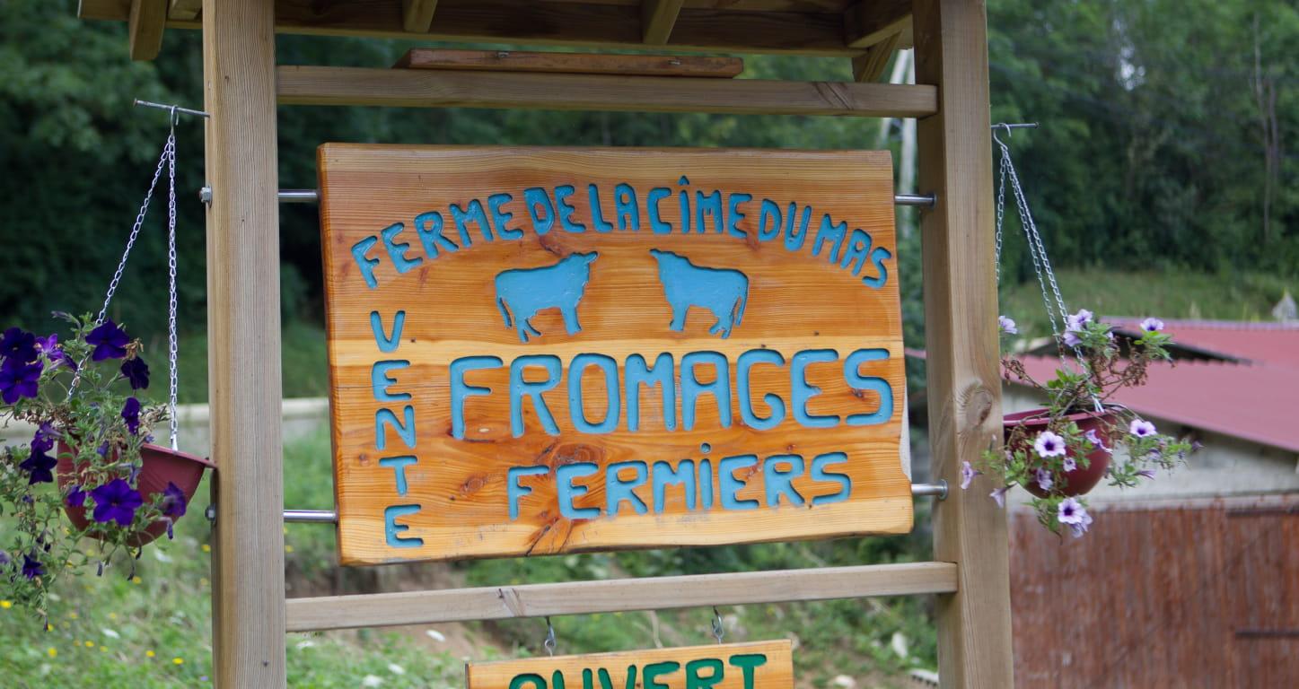 Vente à la ferme de la Cime du Mas dans la Drôme