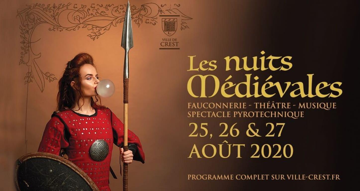 Les nuits médiévales de Crest dans la Drôme
