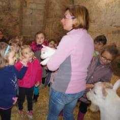 Cathy Dorey portrait agritourisme accueil à la ferme