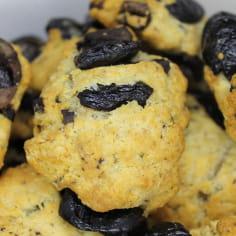 Cookies aux olives de Nyons