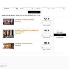 reservation en ligne hotel bellier