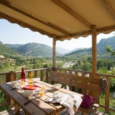 Camping les Ramières dans la Drôme