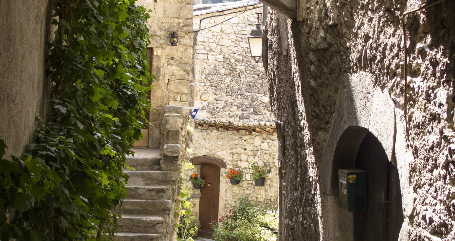 Châtillon-en-Diois - village de la Drôme