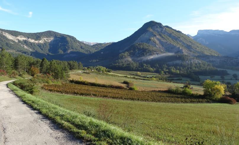 Vue sur le Col de Bergu