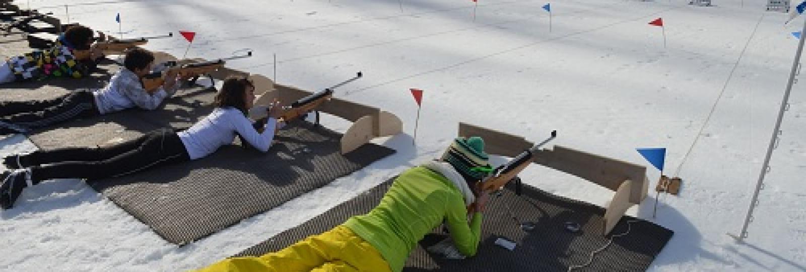 Découverte biathlon carabine lazer
