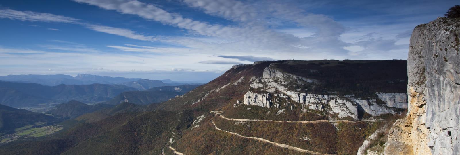 Route et belvédère du Col de Rousset