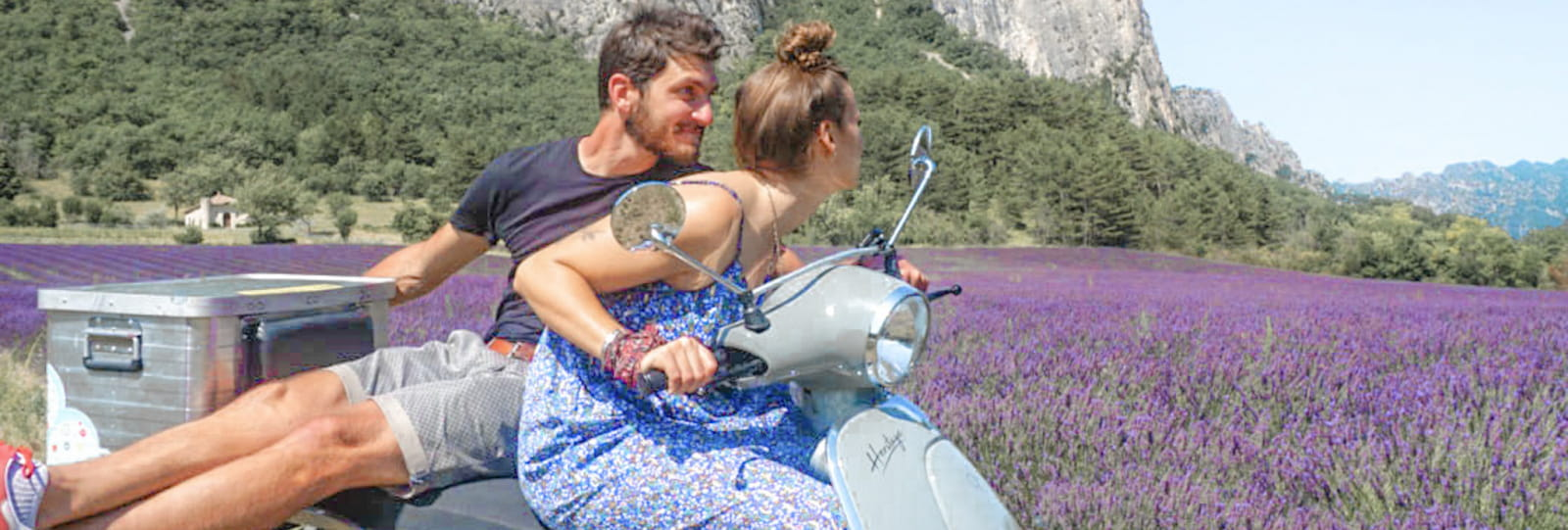 Scooter Nomad - Balades à scooter (électrique ou classique) et Mobylette