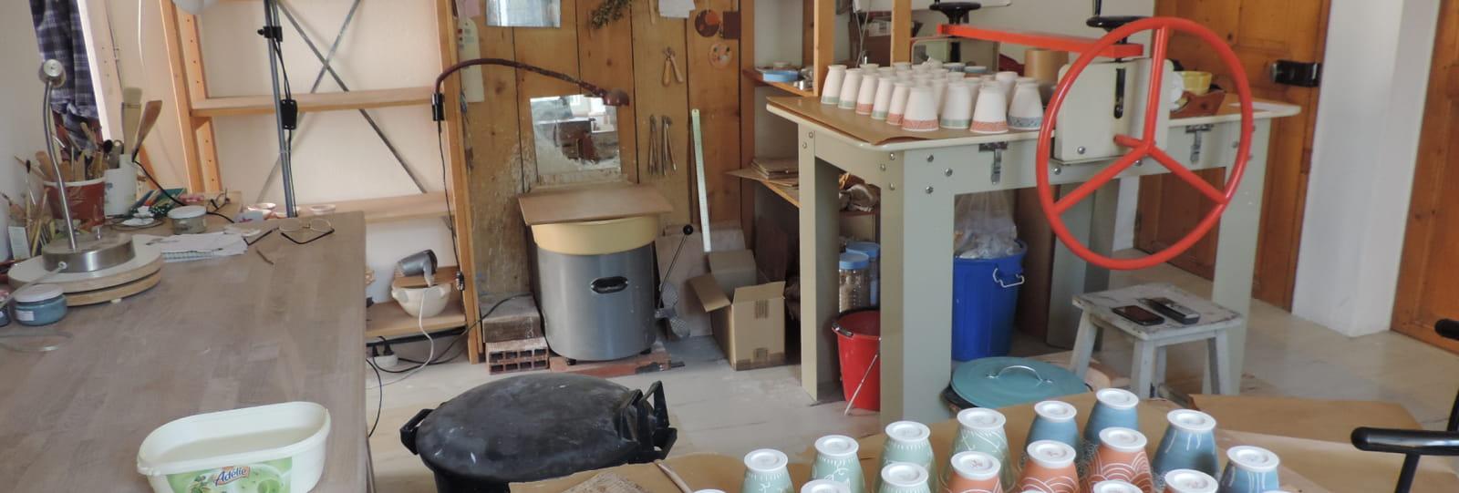 Atelier de poterie - ANNULE