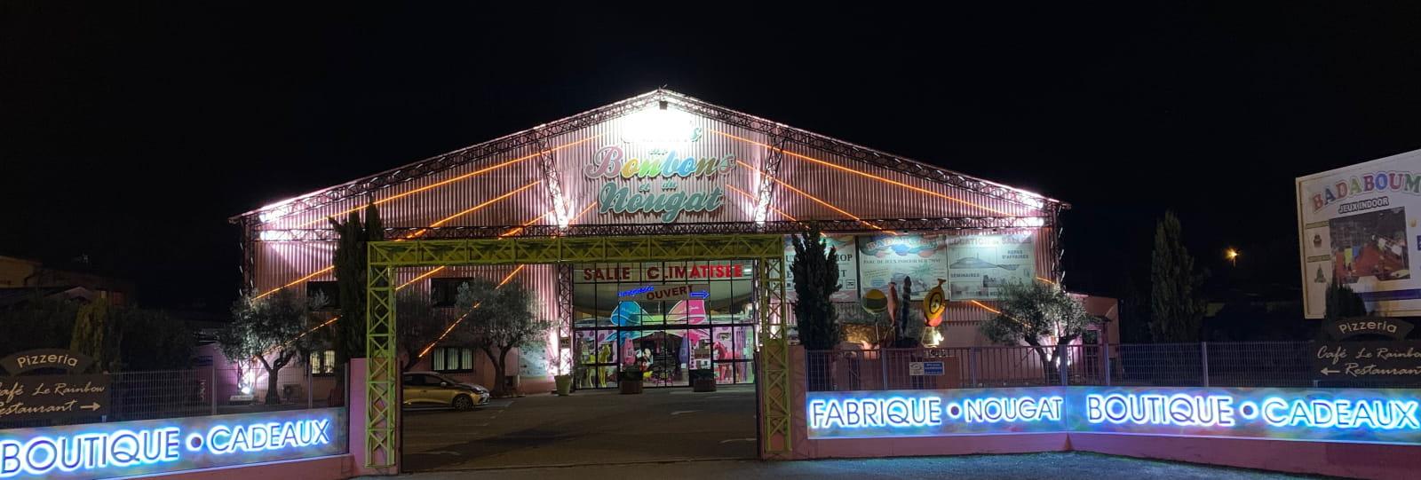Candy and Nougat palace