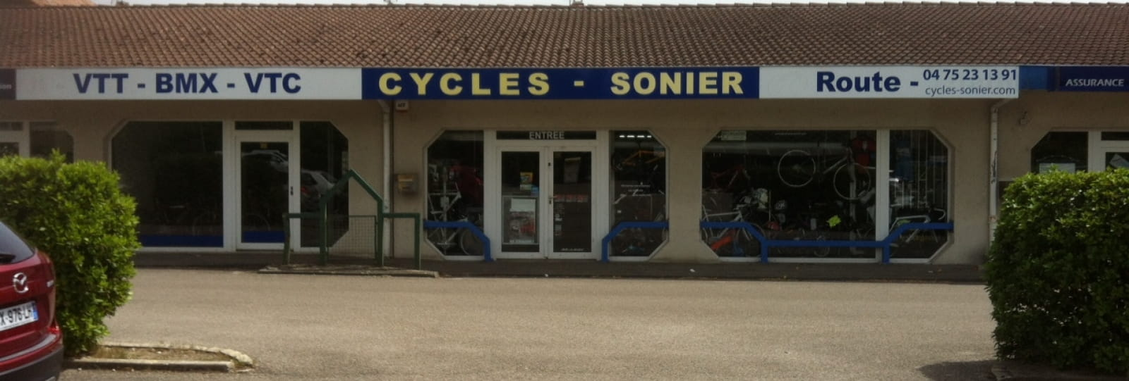Magasin cycles sonier