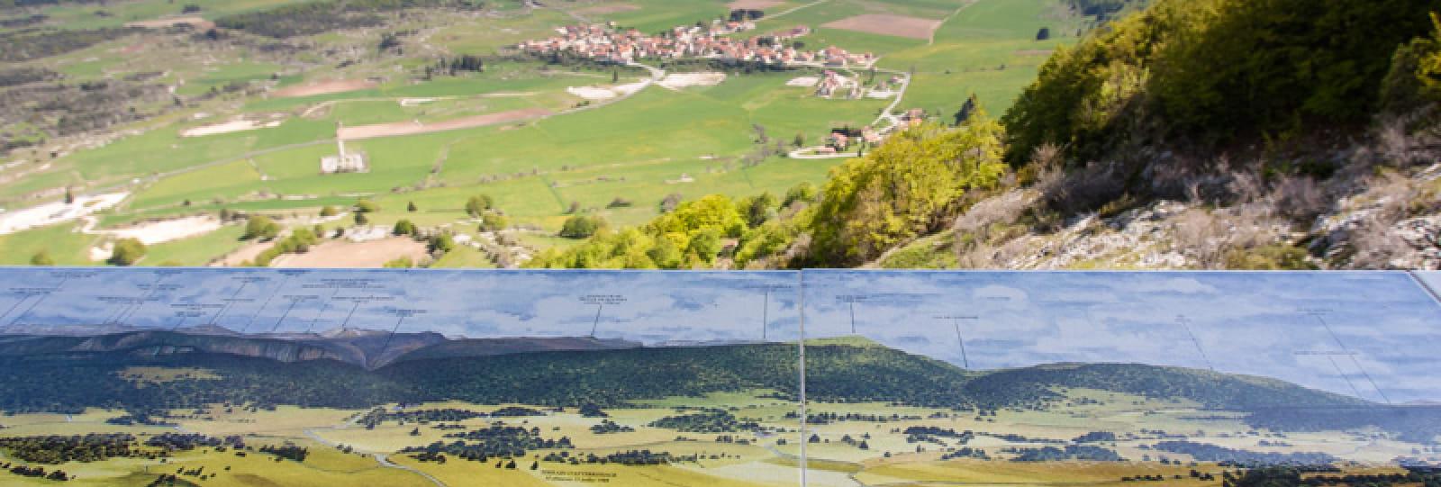 Belvédère du Col de Lachau