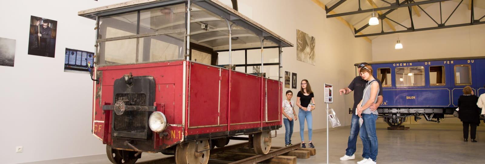 espace de découverte du chemin de fer_Train de l'Ardèche