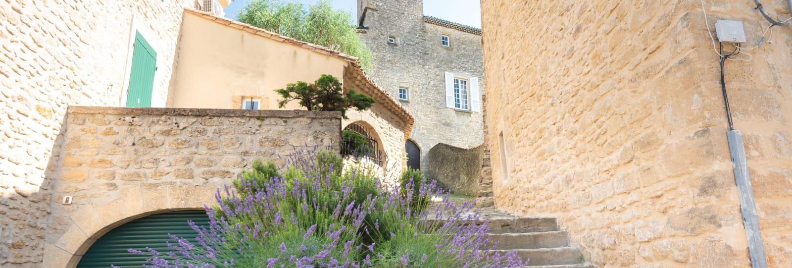 Le village d'Etoile-sur-Rhône