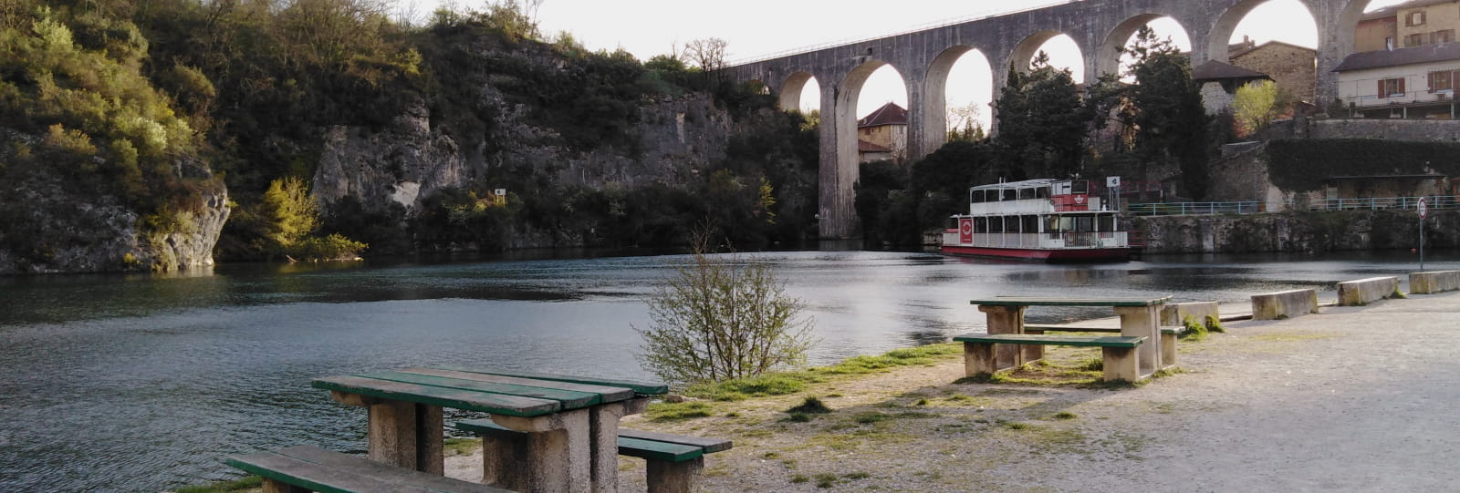 Aire de pique nique de St Nazaire en Royans