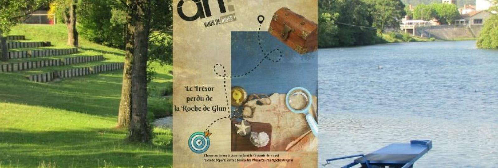 Chasse au trésor _ Le trésor perdu dela Roche de Glun_ Ardèche Hermitage Tourisme