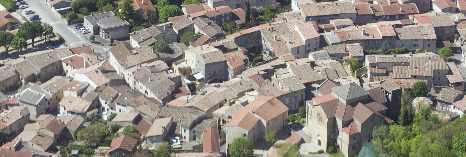 Le village de Chabeuil