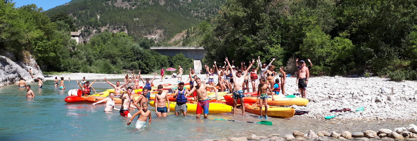 Canoë-kayak avec EVA Location