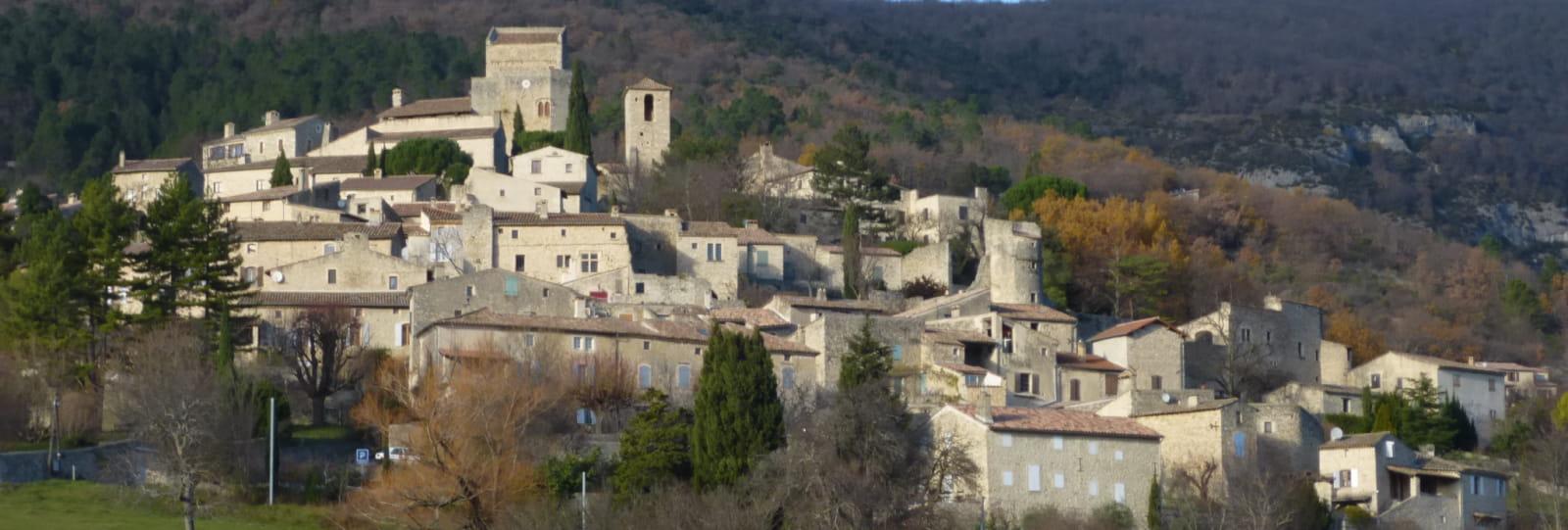 Poët laval village dieulefit tourisme