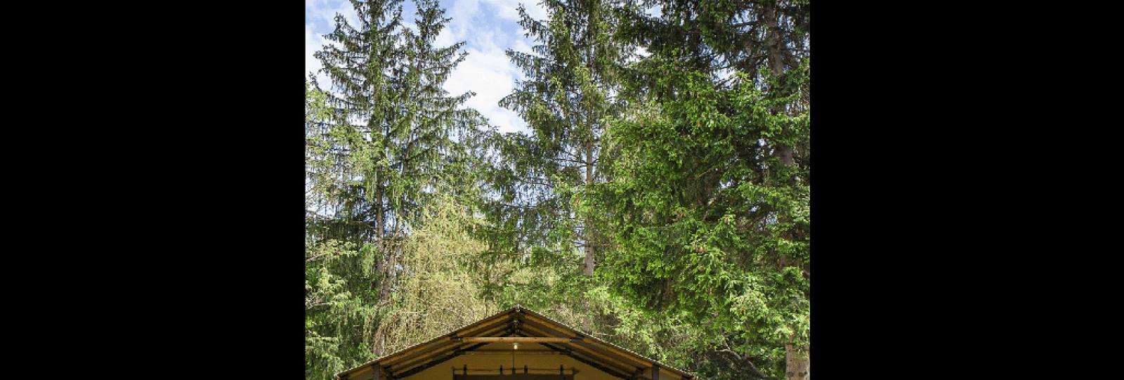 Tente Lodge 'Echirou' - Camping de la Clairette