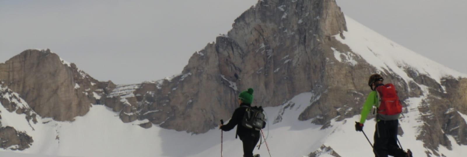 Ski de randonnée avec Yves Gaillard