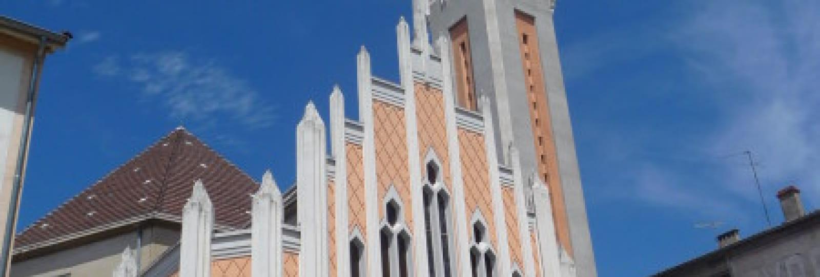 Eglise Notre Dame de Lourdes_Romans