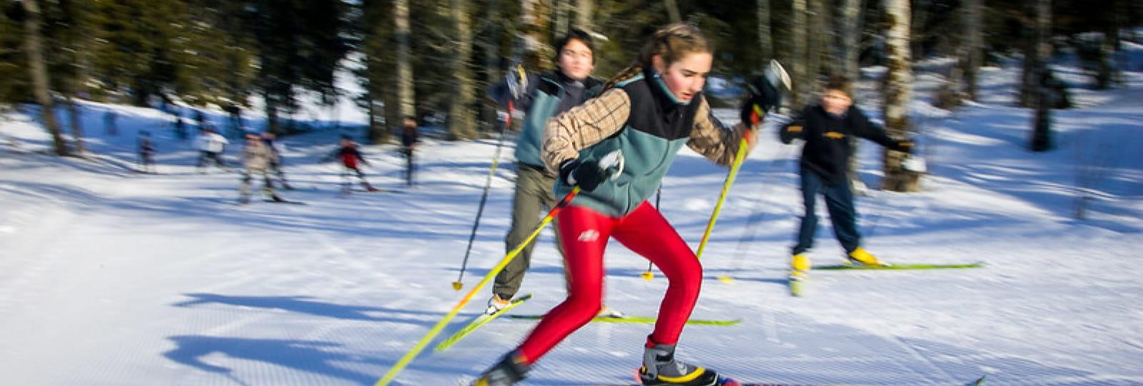 Ski de fond Joel Poncon