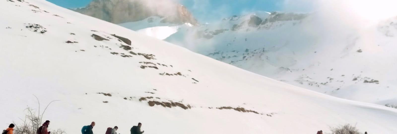 Randonnée raquette Fleyrard