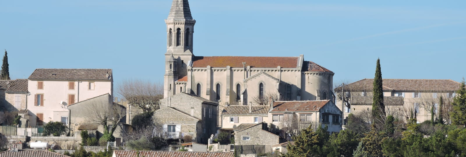 Vue générale - Montségur sur Lauzon