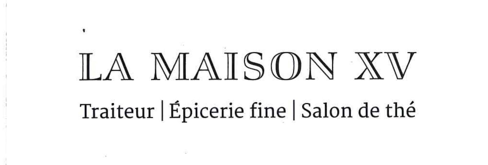 Maison XV - Restaurant