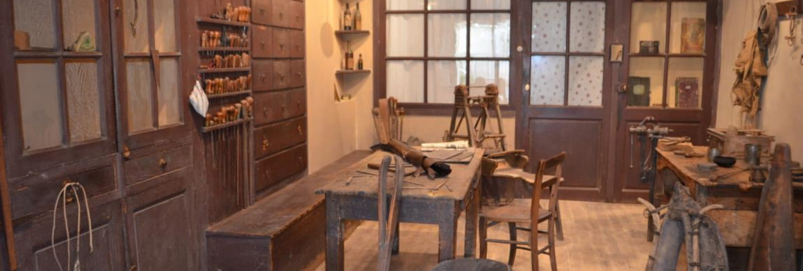 Atelier de bourrellerie - Exposition