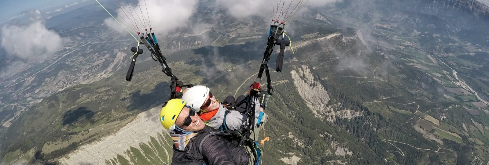 Vol en parapente avec Air Element