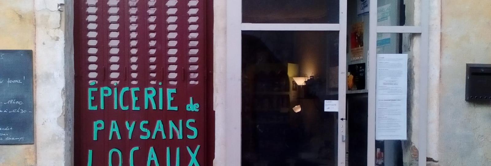 Épicerie de producteurs Rouge Amarante