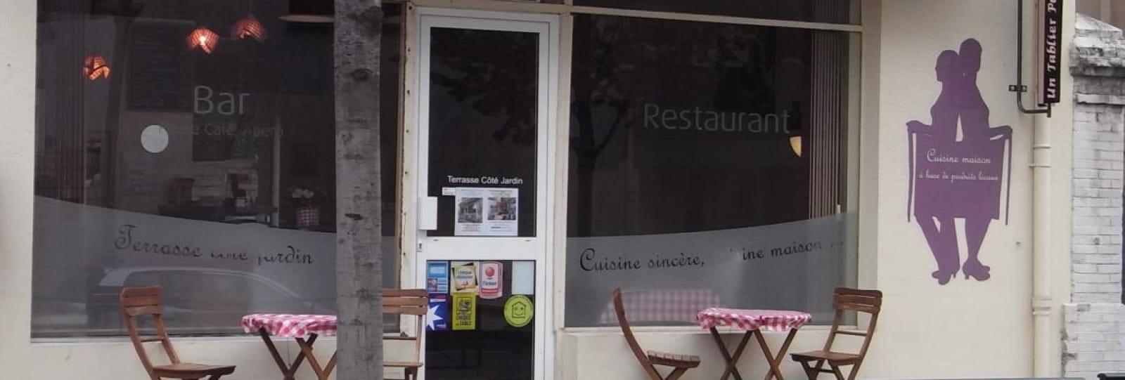 restaurant un tablier pour deux