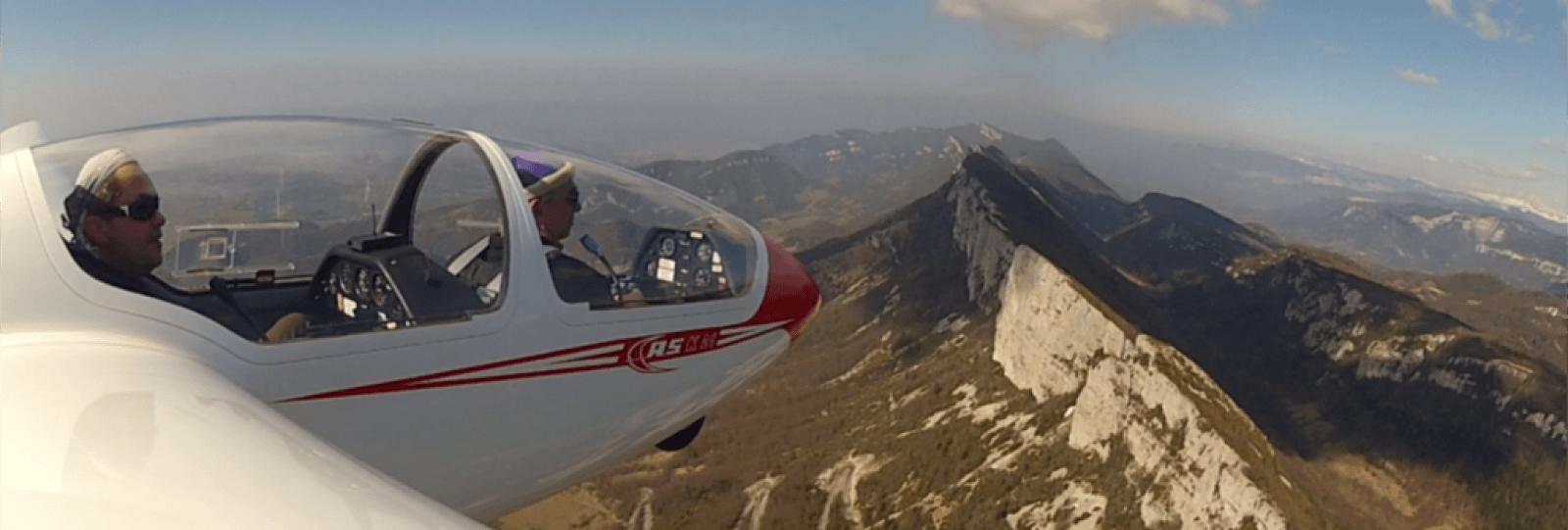 Vercors Vol à Voile - Ecole de pilotage planeur, performance et circuit