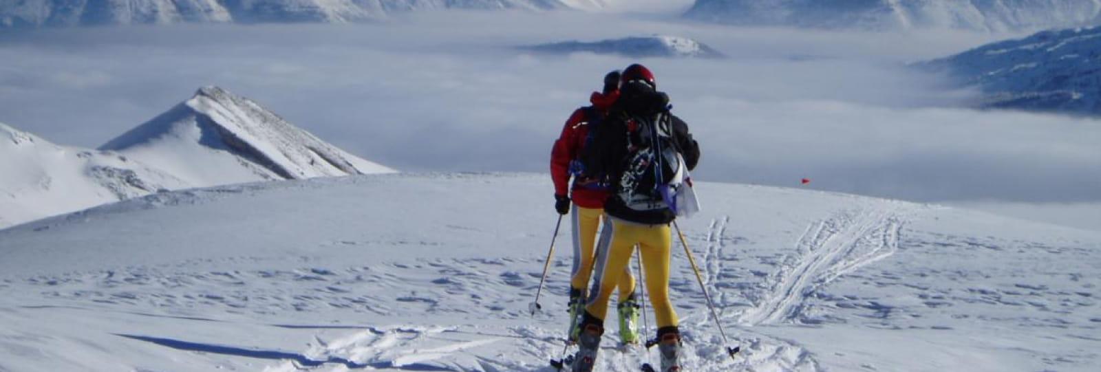 Ski Touring with En Montagne