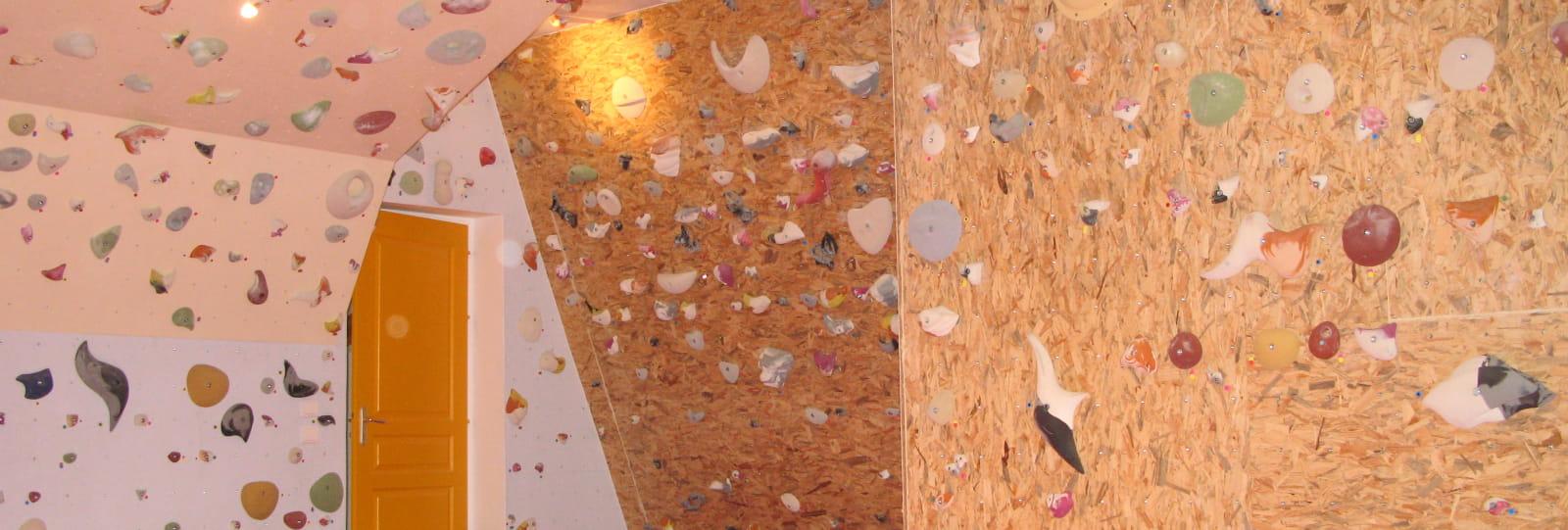 Structure artificielle d'escalade - Club alpin français