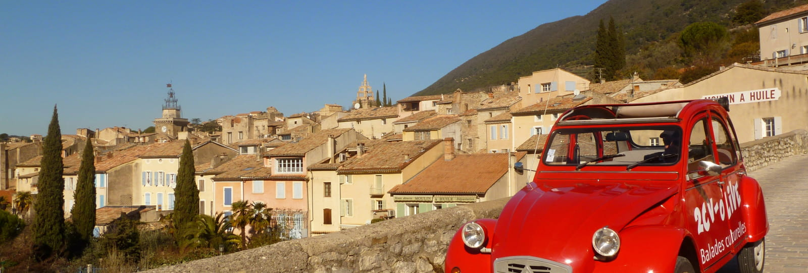 Cultural tour in 2cv: Garde-Grosse's tour