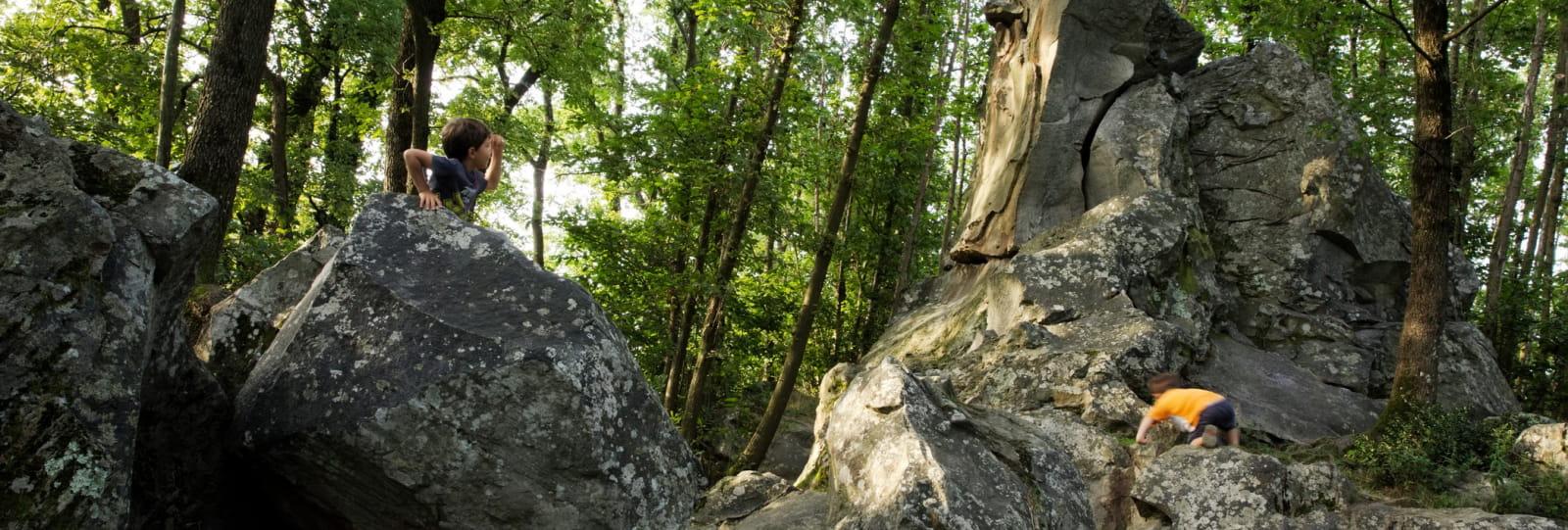 Les roches qui dansent