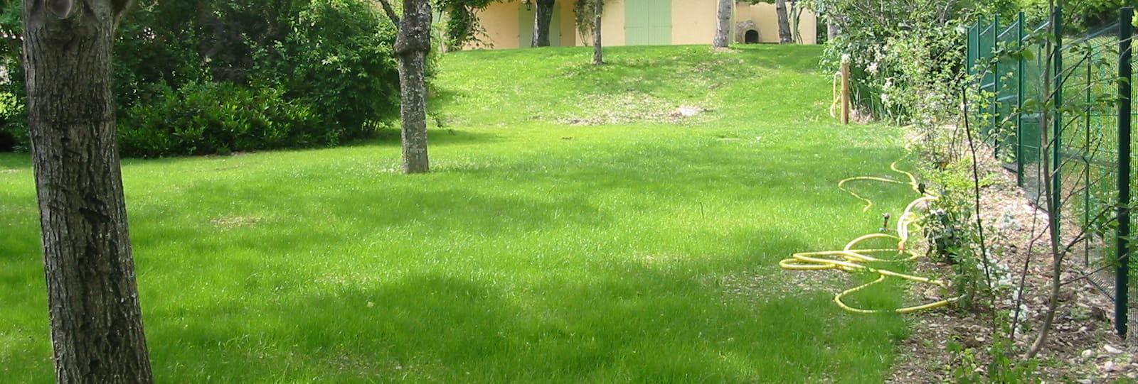 parc et maison