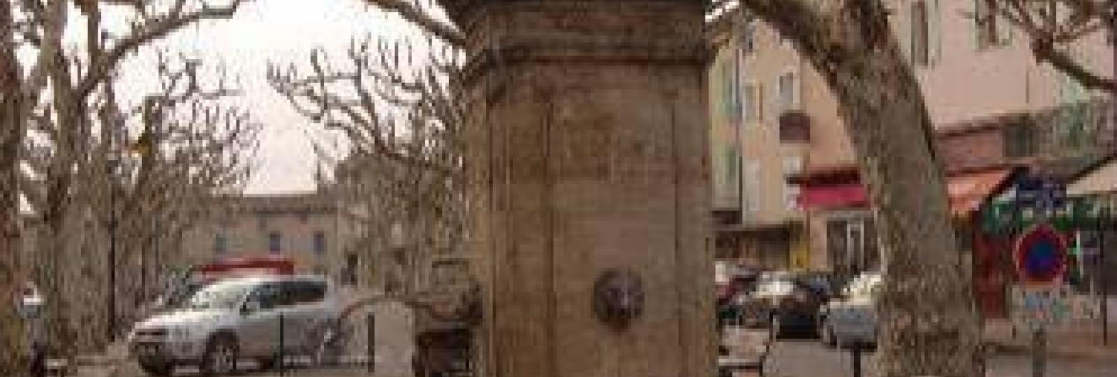 Le Cours et les deux fontaines