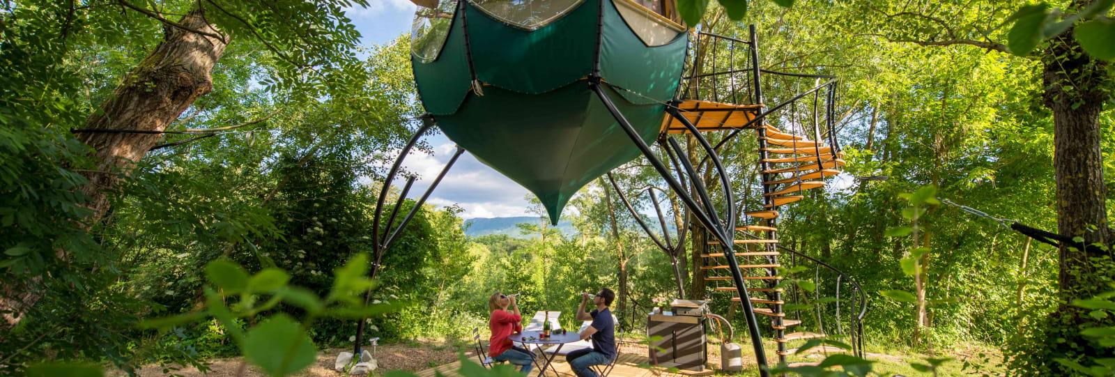 Campalune à Gervanne camping